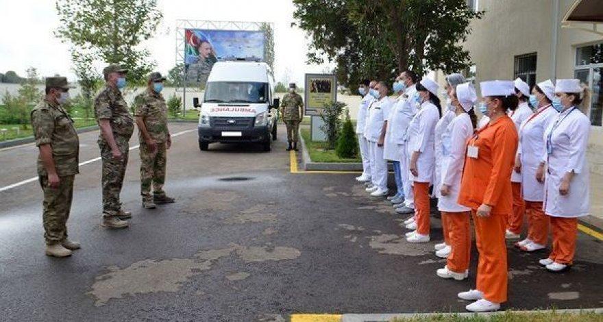 В Гяндже состоялось открытие нового отделения Военного госпиталя - ФОТО/ВИДЕО