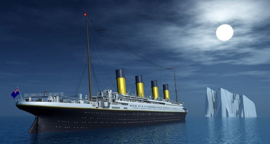Причину гибели «Титаника» увидели в космосе