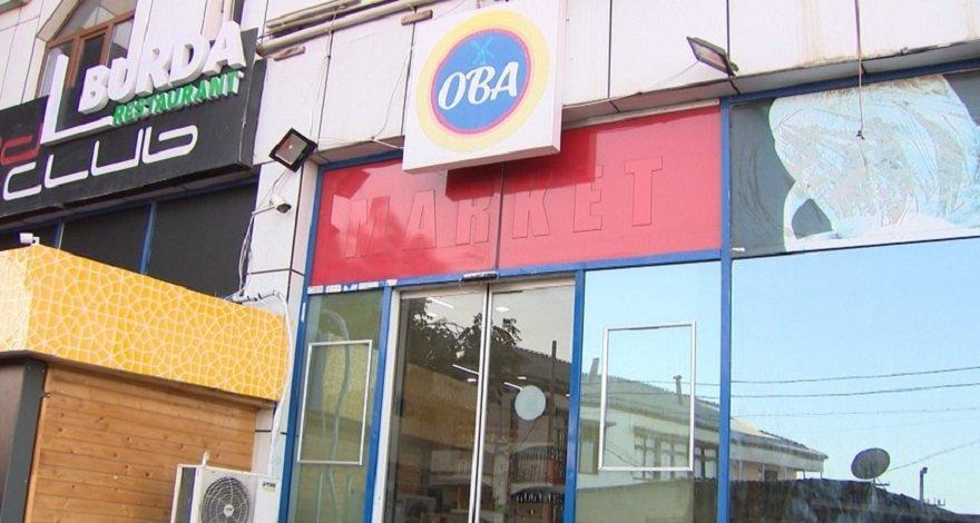 В Баку обокрали продуктовый магазин