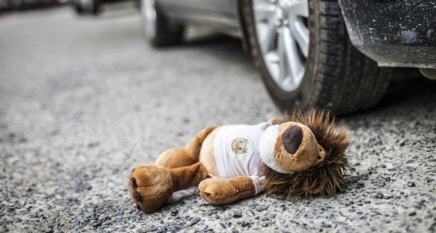 В Абшеронском районе автомобиль сбил ребенка