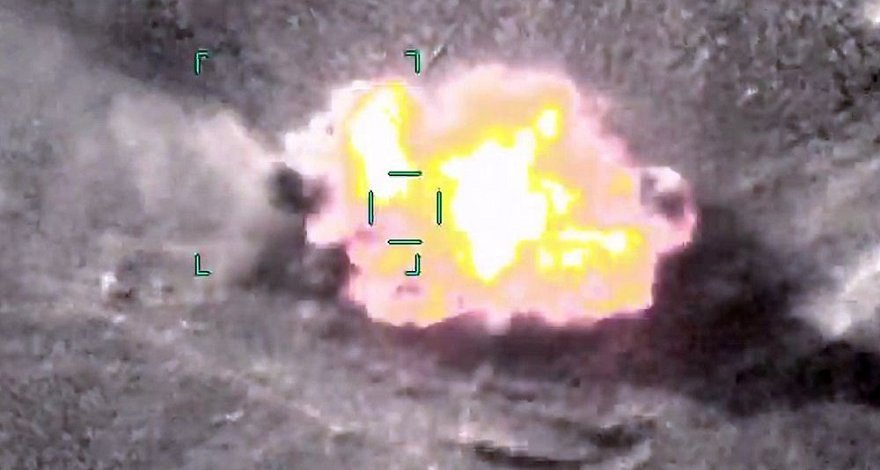 Минобороны: Азербайджанская армия уничтожила два танка ВС Армении - ВИДЕО