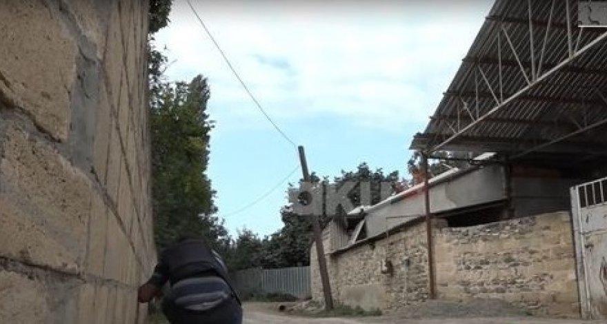 Корреспонденты Baku TV попали под обстрел армянской артиллерии - ВИДЕО