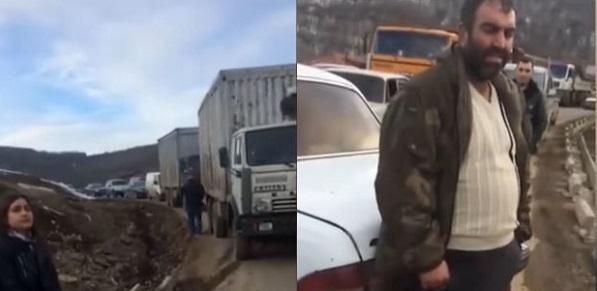 Армянам дали сутки на то, чтобы покинуть дома в селе Шурнух ВИДЕО