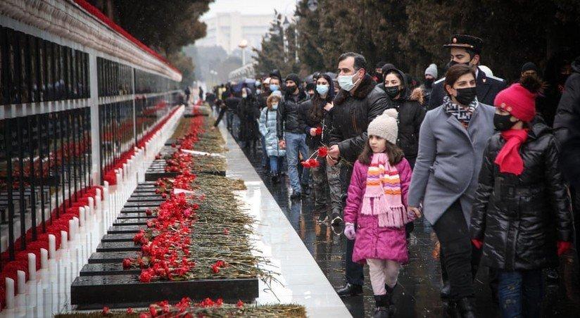 fotografiya s allei shehidov popala v podborku foto dnya v guardian