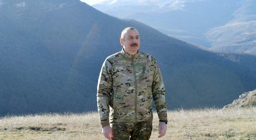 ilxam aliev armyanskogo naseleniya v shushe mozhno skazat ne bylo